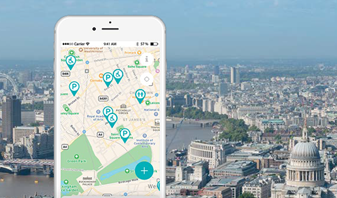 WheelMate - Accessible toilet finder App | Coloplast Charter