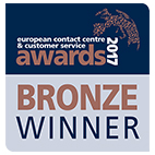 Bronze Winner for the Contact Centre of the year